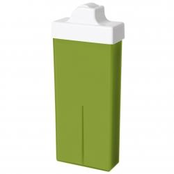 Wachspatrone EXCELLENT Olivenöl mit kleinem Roller, 100 ml