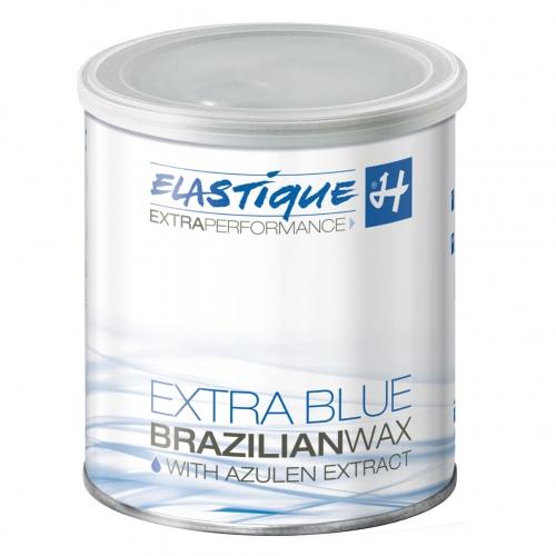 EXTRA BLUE Brazilian Wachs Filmwachs Elastique 800 ml Dose, Enthaarung ohne Vliesstreifen