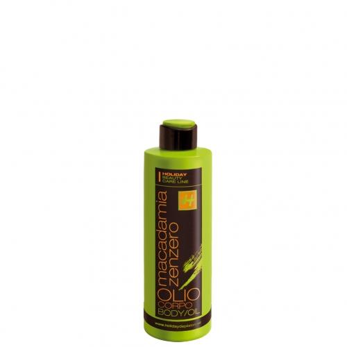 MACADAMIA-GINGER BODY OIL mit Macadamiaöl und Ingwerextrakt 150 ml