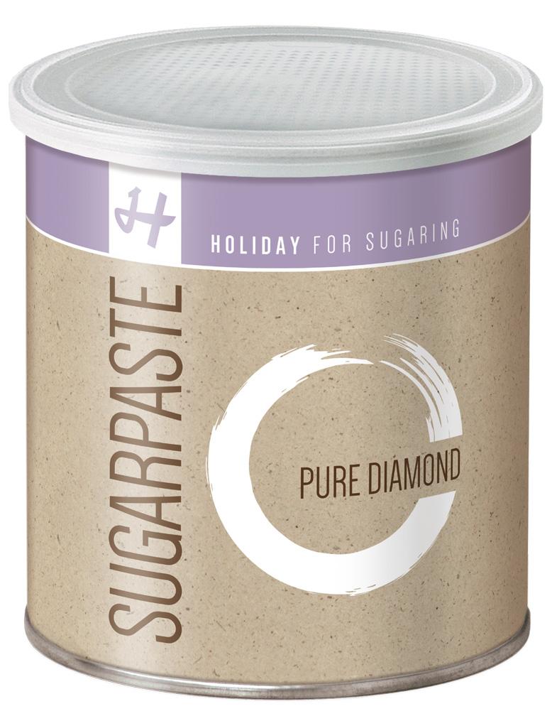 Zuckerpaste Pure Diamond (Soft) - 1 kg - Sugaring ohne Vliesstreifen DA004