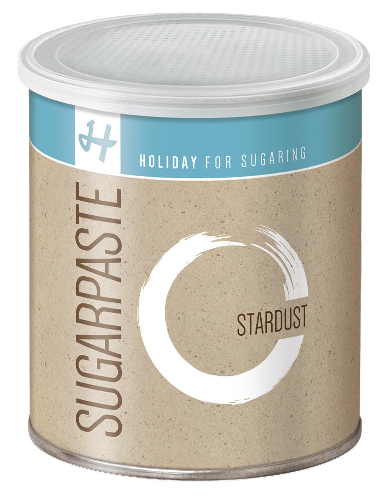 Zuckerpaste Stardust (Strong) - 1 kg - Sugaring ohne Vliesstreifen DA005