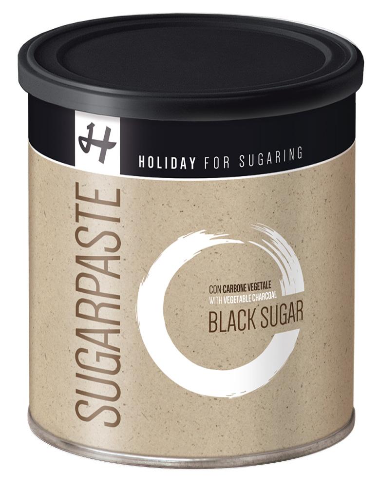 Holiday Im Trend: Zuckerpaste BLACK SUGAR (Soft) - 1 kg - Sugaring ohne Vliesstreifen DA019
