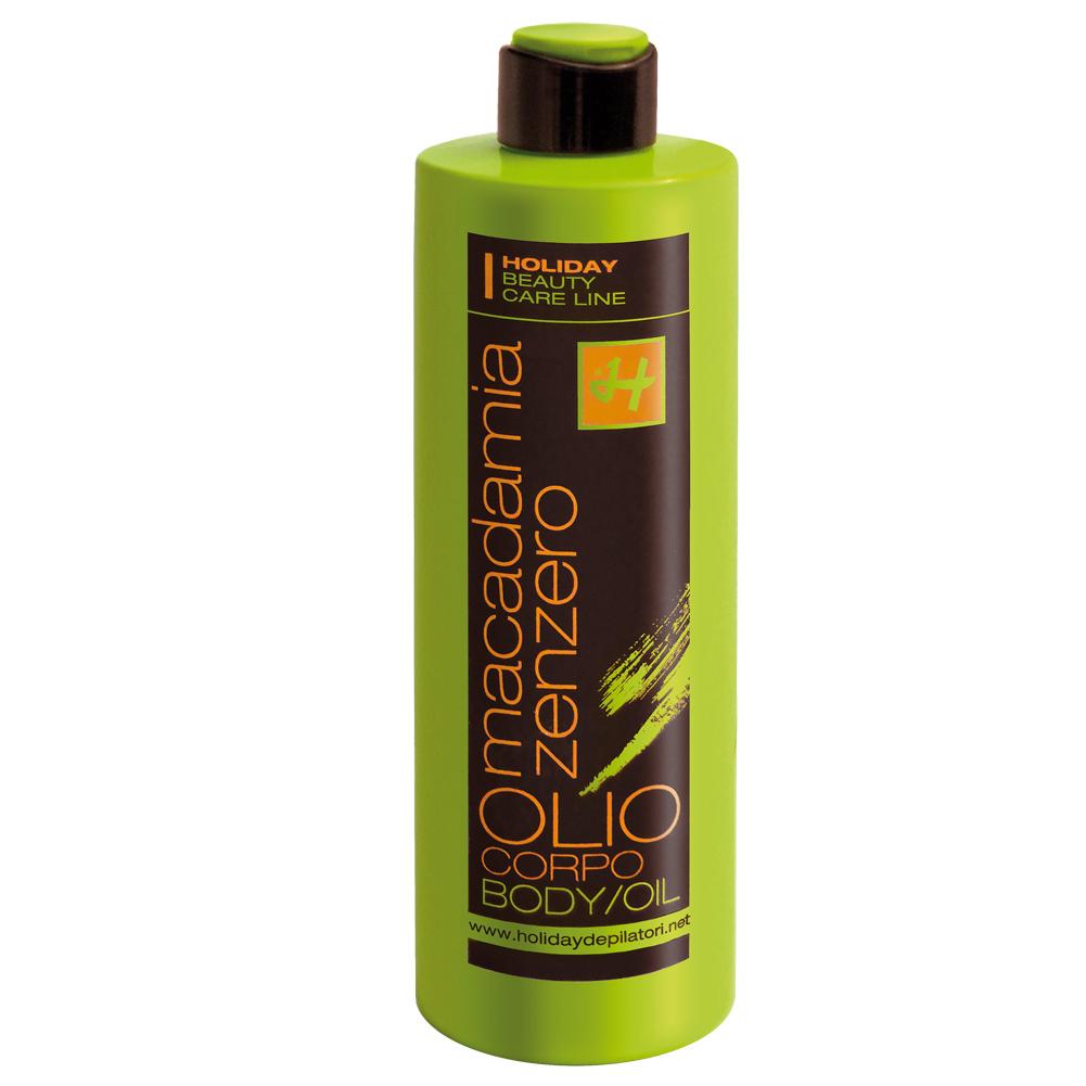 Holiday MACADAMIA-GINGER BODY OIL mit Macadamiaöl und Ingwerextrakt 500 ml DE520