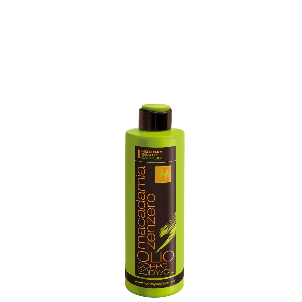 Holiday MACADAMIA-GINGER BODY OIL mit Macadamiaöl und Ingwerextrakt 150 ml DE523