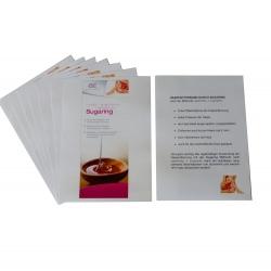 Flyer für Sugaring mit Zuckerpaste - DIN A5 100 Stück