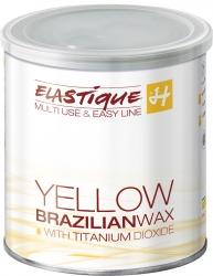 Filmwachs Elastique Blütengelb 800 ml, Enthaarung ohne Vliesstreifen