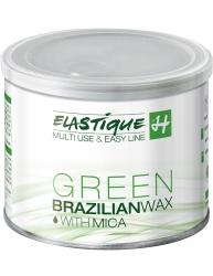 Filmwachs Elastique Green Jasmin 400 ml, Enthaarung ohne Vliesstreifen