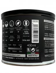 BLACK WAX Filmwachs Elastique 400 ml Dose, Enthaarung ohne Vliesstreifen