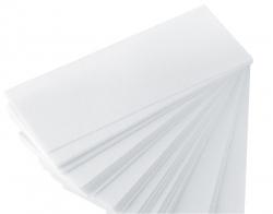 Vliesstreifen Delicato & Consistente weiß, 20 cm x 7 cm, 100 Stk