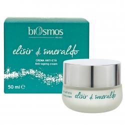 Elisir di Smeralda mit kleinem Smaragd, - Anti-Aging Creme, 50 ml, Fitogemmocosmesi, Biosmos