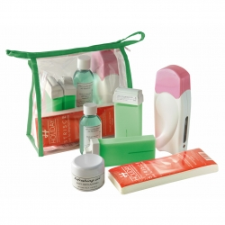 Sonderpreis! BEAUTY SET PATRONE WAXING GRÜN