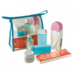 BEAUTY SET PATRONE WAXING BLAU